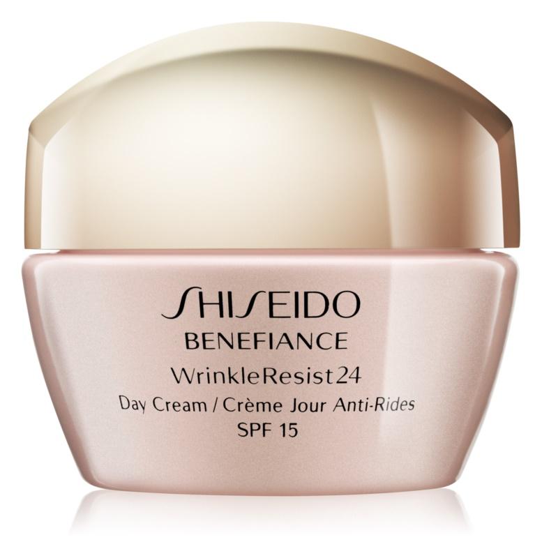 Shiseido Benefiance WrinkleResist24 dnevna krema protiv bora SPF 15