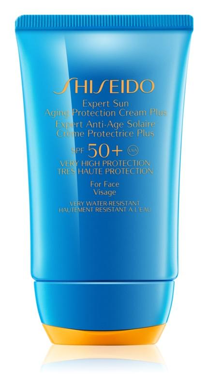 Shiseido Sun Protection крем для обличчя для засмаги SPF50+