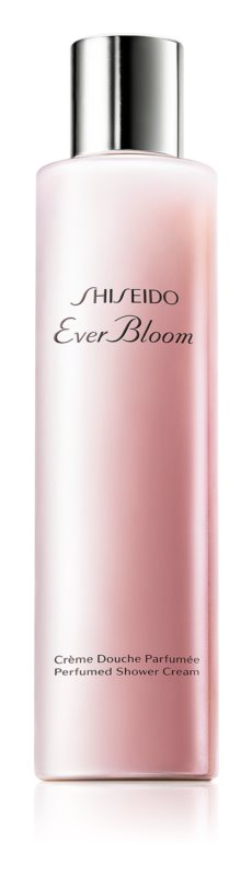Shiseido Ever Bloom Shower Cream crema de ducha para mujer 200 ml