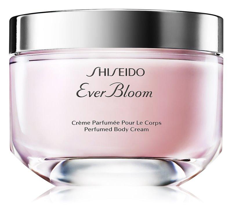 Shiseido Ever Bloom Body Cream Körpercreme Damen 200 ml