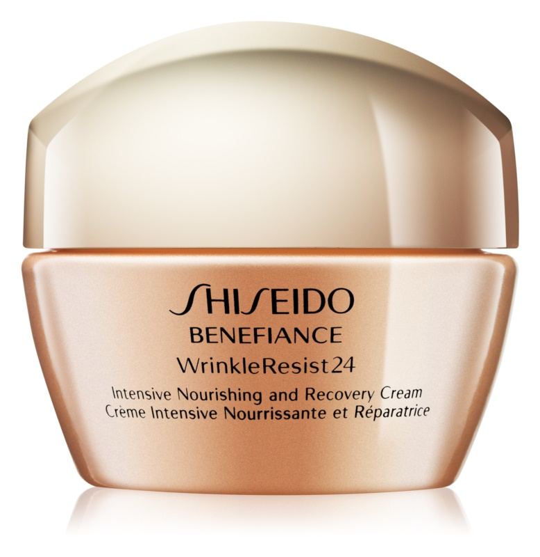 Shiseido Benefiance WrinkleResist24 Intensive Nourishing and Recovery Cream Reichhaltige und beruhigende 24-Stunden Anti-Aging Creme