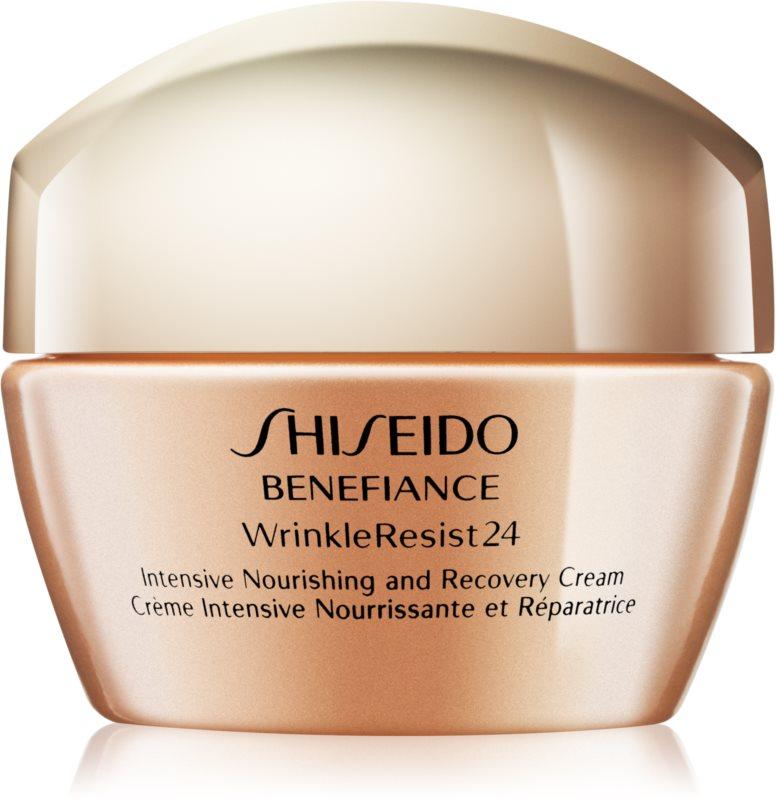 Shiseido Benefiance WrinkleResist24 поживний крем проти зморшок