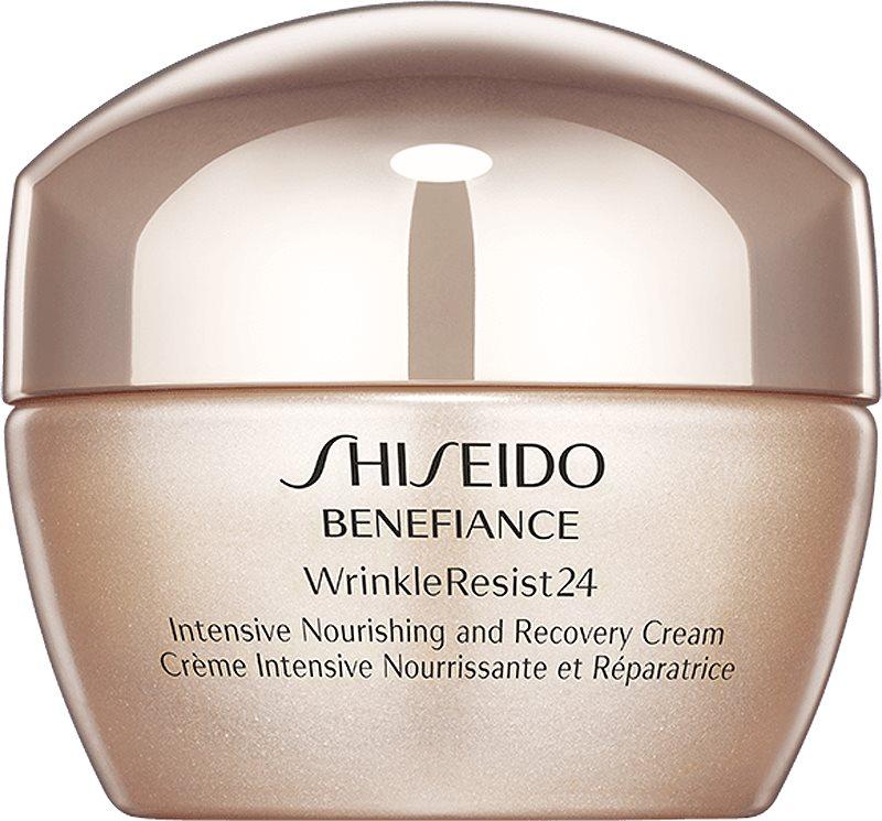 Shiseido Benefiance WrinkleResist24 Intensive Nourishing and Recovery Cream intenzivní vyživující krém proti vráskám