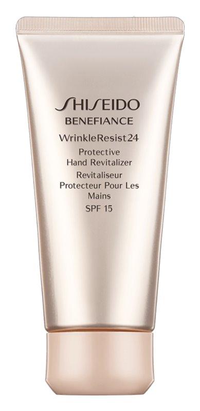 Shiseido Benefiance WrinkleResist24 Protective Hand Revitalizer SPF15 obnovujúci a ochranný krém na ruky SPF 15