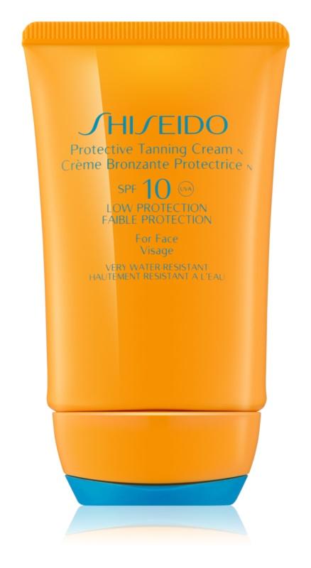 Shiseido Sun Protection creme solar facial SPF 10