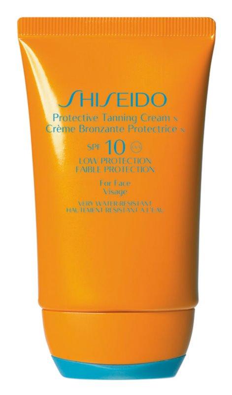 Shiseido Sun Care Protection crema de soare pentru fata SPF 10