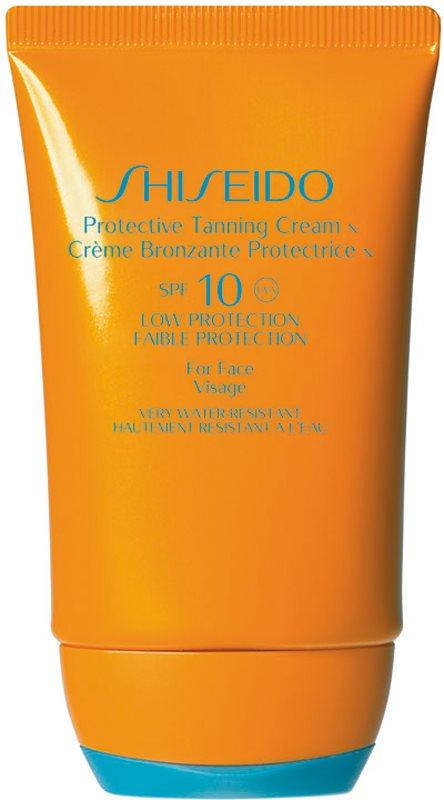 Shiseido Sun Care Protection Pflegende Sonnencreme speziell für das Gesicht SPF 10