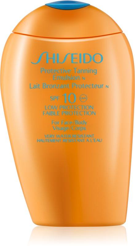 Shiseido Sun Protection opalovací emulze SPF 10