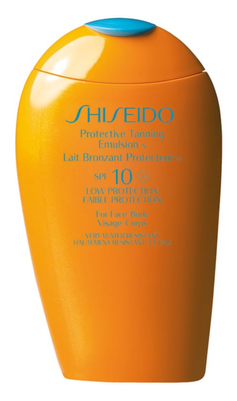 Shiseido Sun Care Protective Tanning Emulsion SPF10 émulsion solaire SPF 10