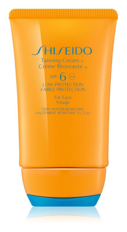Shiseido Sun Protection Tanning Cream for Face SPF 6