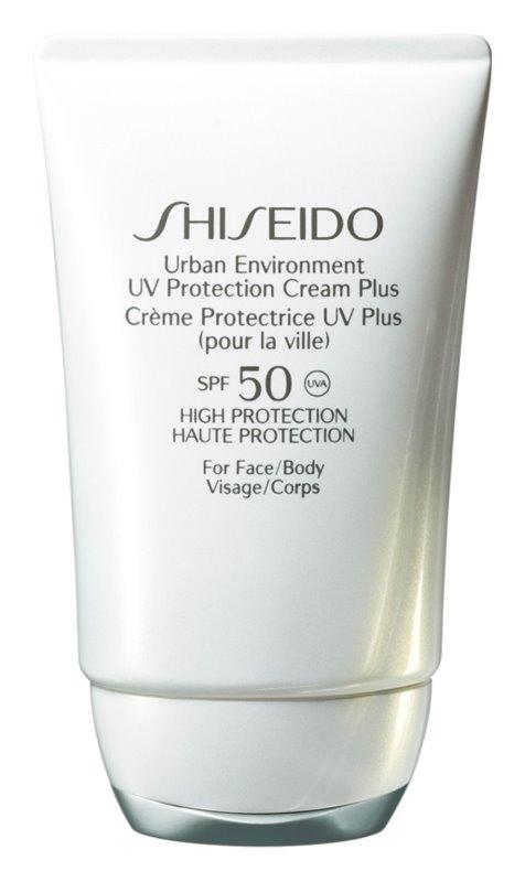 Shiseido Sun Care Protection crema hidratante protectora SPF 50
