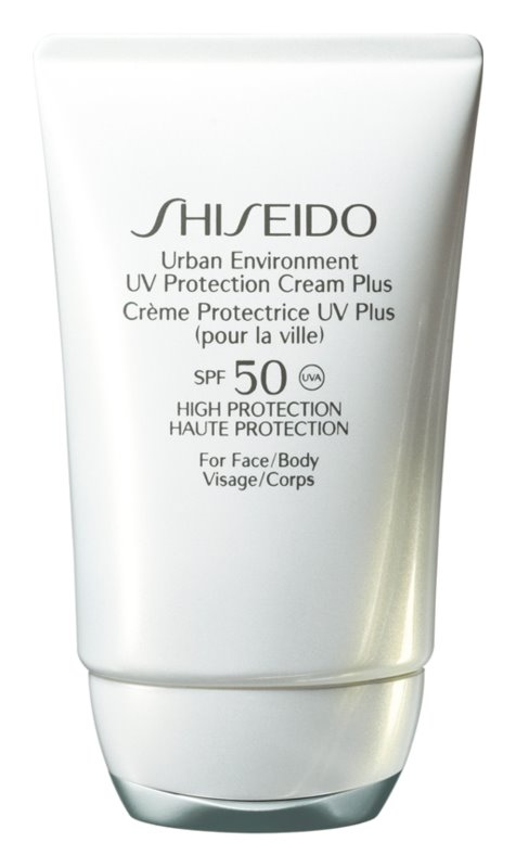 Shiseido Sun Care Protection UV Protection Cream Plus for Face and Body SPF 50