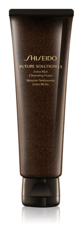 Shiseido Future Solution LX Extra Rich Cleansing Foam очищаюча пінка для шкіри обличчя