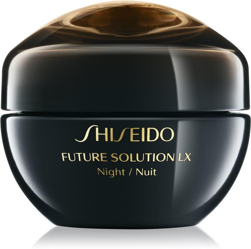 Shiseido Future Solution LX noční regenerační a protivráskový krém