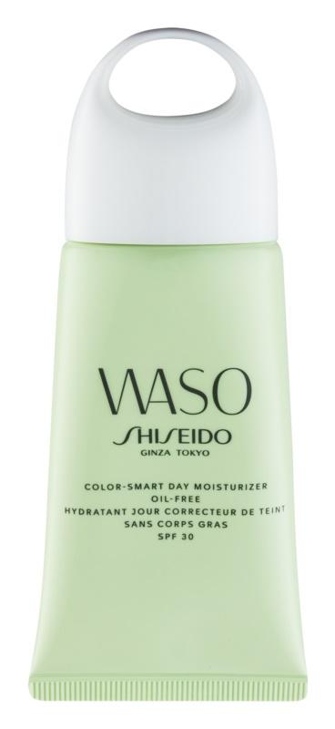 Shiseido Waso Color-Smart Day Moisturizer Feuchtigkeit spendende Tagescreme für einen vereinheitlichten Hautton ohne Ölgehalt