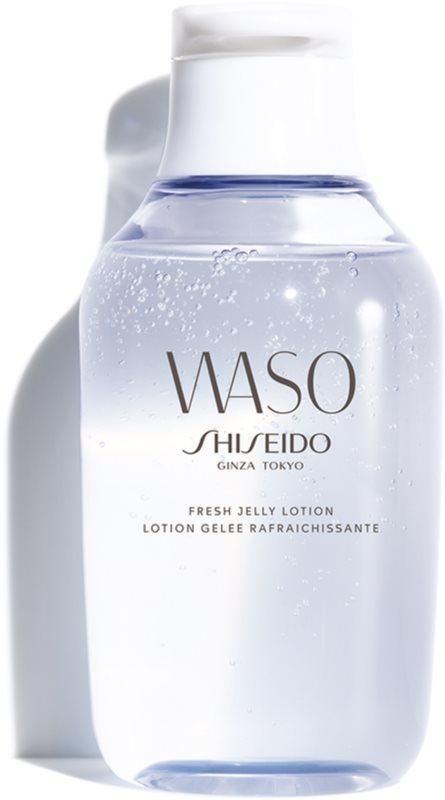 Shiseido Waso Fresh Jelly Lotion nappali és éjszakai ápolás alkoholmentes