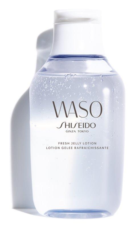 Shiseido Waso Fresh Jelly Lotion soin jour et nuit sans alcool