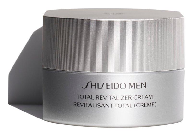 Shiseido Men Total Revitalizer Cream ревитализиращ и тонизиращ крем против бръчки