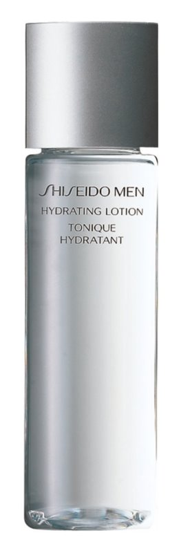 Shiseido Men Hydrating Lotion agua facial calmante  con efecto humectante