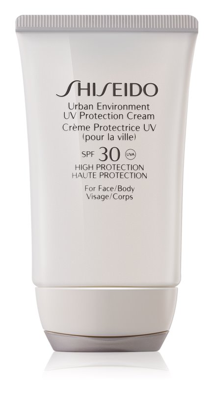 Shiseido Sun Urban Environment Protective Cream for Face and Body SPF 30