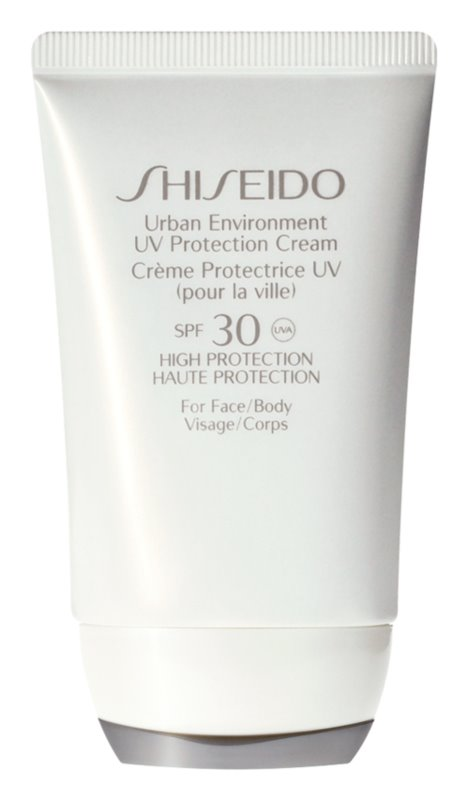 Shiseido Sun Care Urban Environment UV Protection Cream SPF 30 zaščitna krema za obraz in telo SPF 30