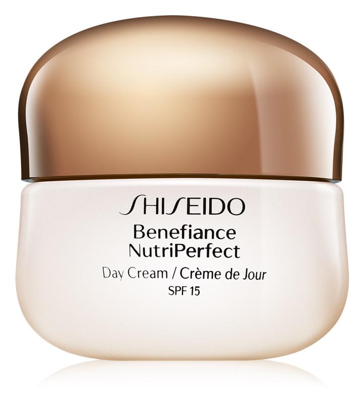Shiseido Benefiance NutriPerfect fiatalító nappali krém SPF 15