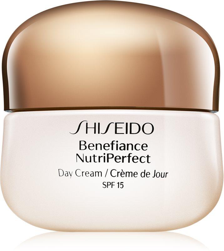 Shiseido Benefiance NutriPerfect omlazující denní krém SPF 15