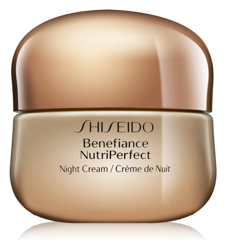 Shiseido Benefiance NutriPerfect revitalizační noční krém proti vráskám