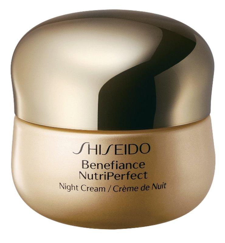 Shiseido Benefiance NutriPerfect Night Cream revitalizačný nočný krém proti vráskam