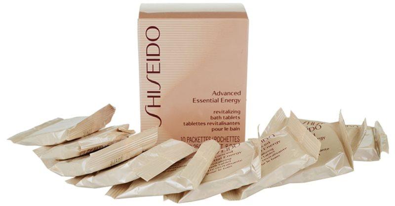 Shiseido Body Advanced Essential Energy Badetabletten