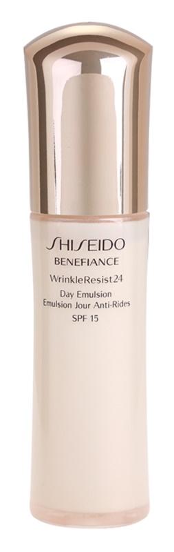 Shiseido Benefiance WrinkleResist24 emulsión antiarrugas SPF 15