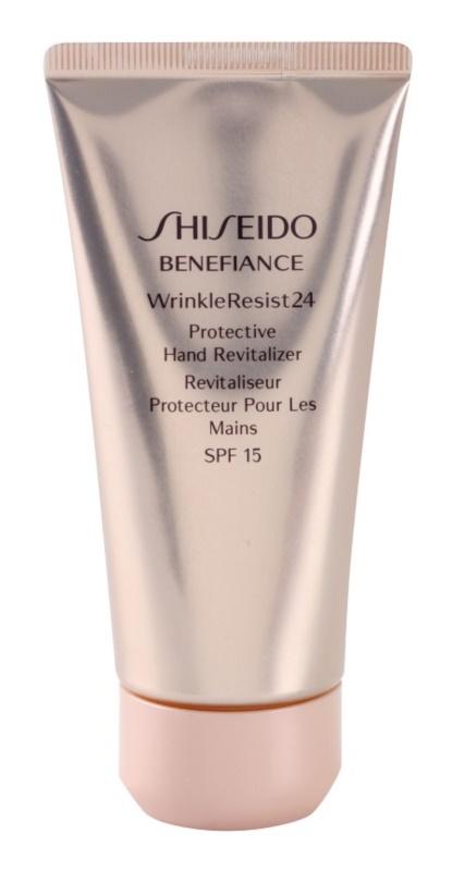 Shiseido Benefiance WrinkleResist24 obnovující a ochranný krém na ruce SPF 15