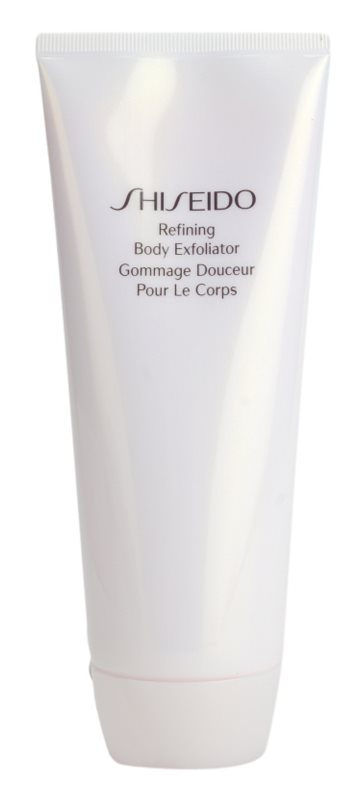 Shiseido Body exfoliant corp cu efect de hidratare