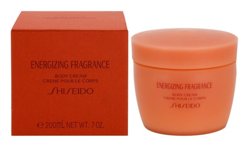 Shiseido Energizing Fragrance Körpercreme für Damen 200 ml