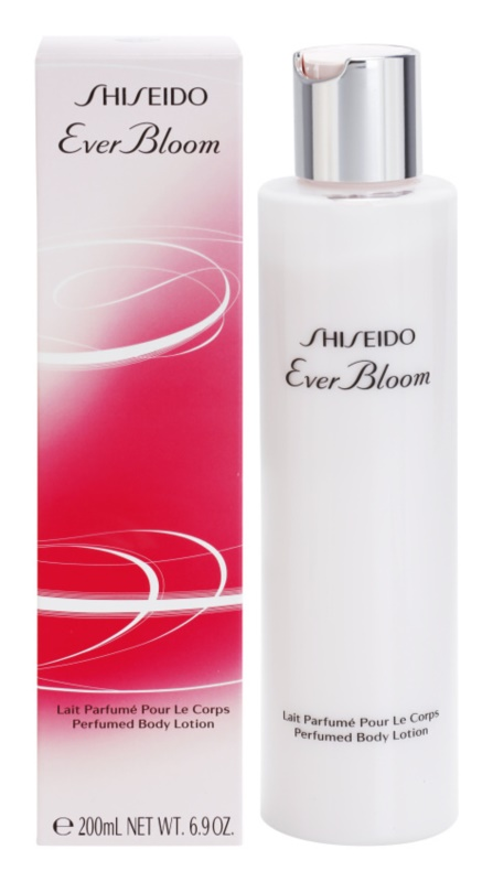 Shiseido Ever Bloom lotion corps pour femme 200 ml