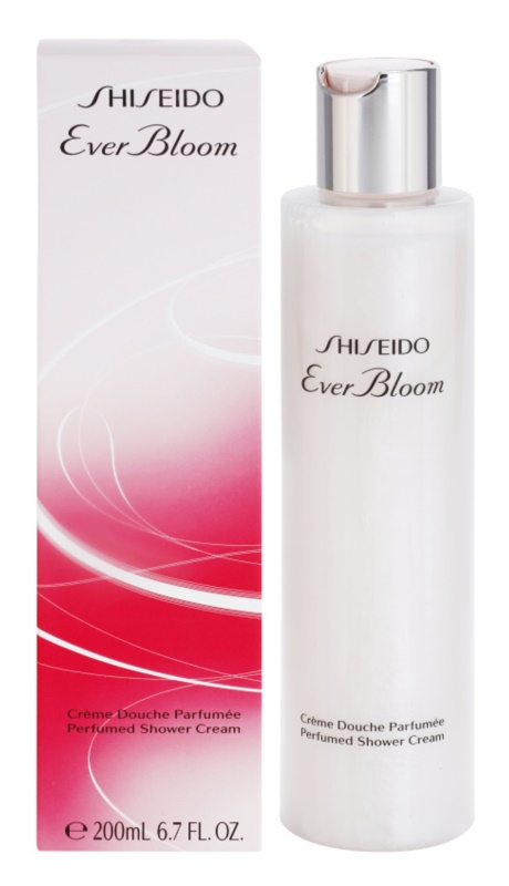 Shiseido Ever Bloom crema de ducha para mujer 200 ml
