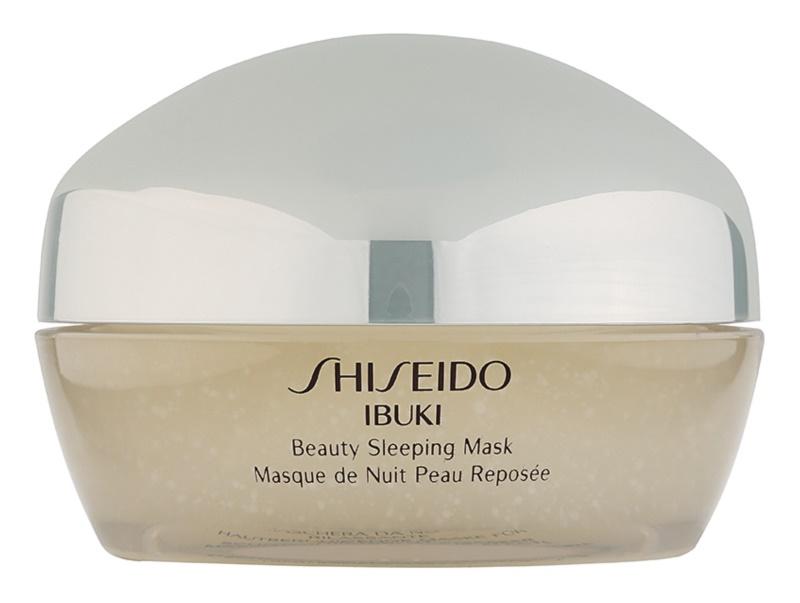 Shiseido Ibuki maseczka na noc upiększający skórę