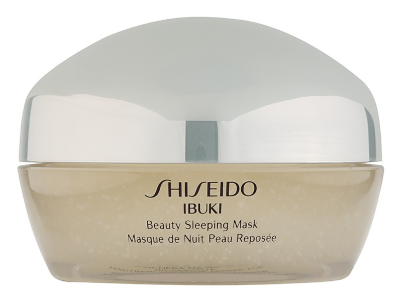 Shiseido Ibuki Maske für die Nacht zum verschönern der Haut