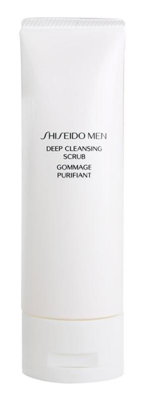 Shiseido Men Cleanse čisticí pleťový peeling pro muže