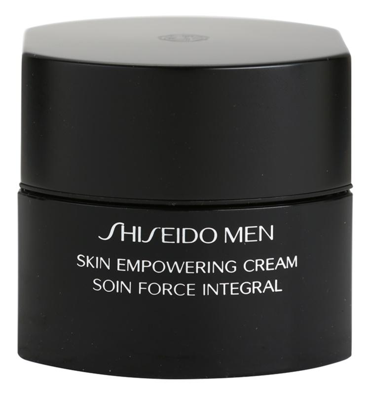 Shiseido Men Total Age-Defense stärkende Creme für müde Haut