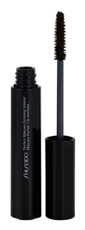 Shiseido Eyes Perfect Mascara rimel rezistent la apa pentru volum și ingrosarea  genelor
