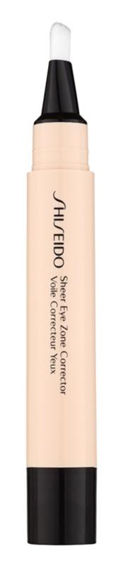 Shiseido Base Sheer Eye Zone κονσίλερ  για την αντιμετώπιση  των μαύρων κύκλων