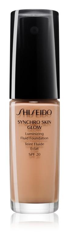 Shiseido Makeup Synchro Skin Glow Luminizing Fluid Foundation SPF20 make-up pentru luminozitate SPF 20