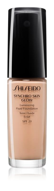 Shiseido Synchro Skin Glow make-up pentru luminozitate SPF 20
