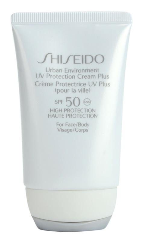 Shiseido Sun Protection hydratační ochranný krém SPF50