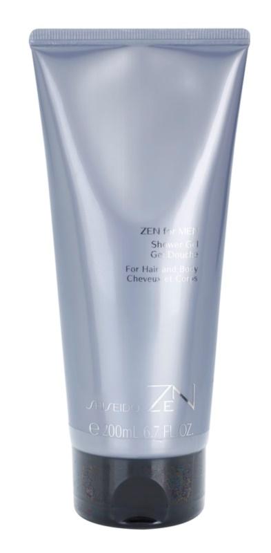Shiseido Zen for Men tusfürdő férfiaknak 200 ml