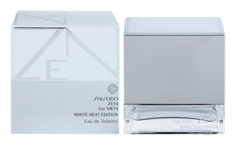 Shiseido Zen for Men White Heat Edition Eau de Toilette Herren 50 ml
