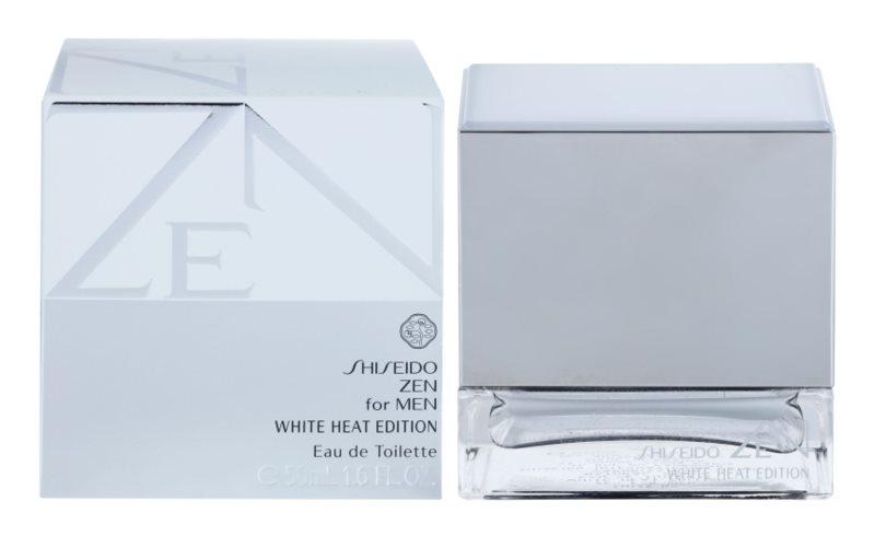 Shiseido Zen for Men White Heat Edition toaletní voda pro muže 50 ml