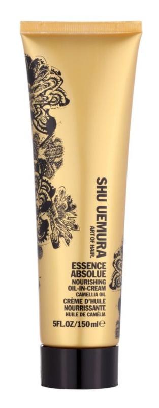 Shu Uemura Essence Absolue поживний розгладжуючий крем для волосся
