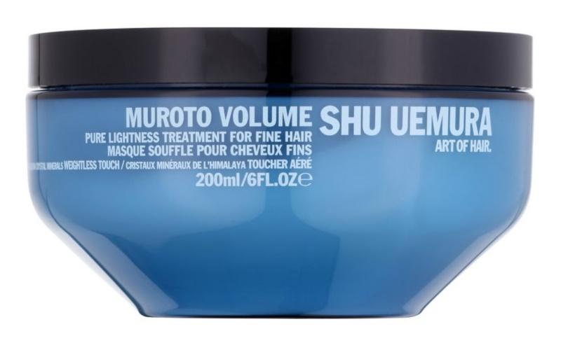Shu Uemura Muroto Volume máscara para cabelo fino